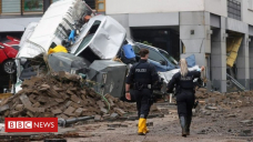 Europe floods: Victims face massive magnificent-up as waters recede