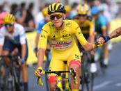 Tour de France result: Tadej Pogacar defends title, Wout van Aert wins on Champs-Elysees