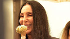 Cher, 75, Slays In Fitted Dim Leggings As She Eats Ice Cream On Glam Portofino Getaway — Photos
