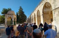 Jews visiting Temple Mount is not assault on al-Aqsa
