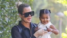 Khloe Kardashian Snuggles Up To Daughter Correct, 3, & Nieces Penelope, 9, & Chicago, 3 For Adorable Report
