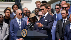 Tom Brady makes election joke at White Dwelling in reference to Buccaneers' Dapper Bowl 55 win