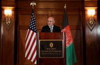 Rockets land near Afghan president, Taliban denies responsibility