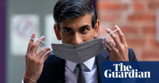 UK borrowing falls as debt interest payments jump to £8.7bn