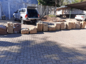 Man arrested for dagga valued at more than R1 million