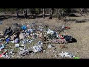 Unlawful dumping at cricket field near air school