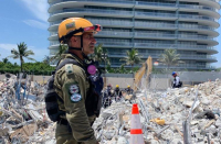 Fire department ends search of collapsed Florida condo for remains