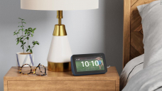 The Echo Display 5 is the perfect addition to your nightstand