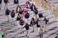 Olympic teams must abide by strict dress codes including clothing length