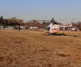 Two seriously injured in a plane crash on Windsor next to the Vaal River