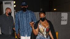 LeBron James & Companion Savannah Retain Hands On Romantic Date Night In Beverly Hills — Photo