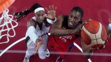 U.S. women people's basketball team beats Nigeria in Olympic opener but has things to work on