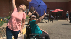Second World Battle vet gets Snowbirds flyby for his 100th birthday