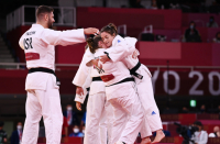 Israeli Judo Workforce to compete for bronze after victory against Brazil