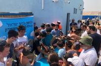 Mitzpeh Yericho beats the heat with Ben & Jerry's ice cream party