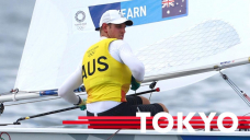 Australia's Matt Wearn officially secures sailing Laser class gold medal at Tokyo Olympics 2020