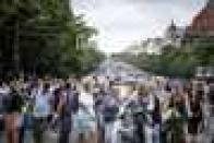 Crowds in Berlin defy ban, protest coronavirus restrictions
