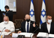 Israel's cabinet passes new state budget for first time in three years