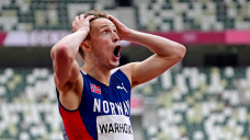 Drama, disbelief and jubilation: These images prove the males's 400-meter hurdles had it all