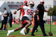 DE Dee Ford back in team drills for 49ers