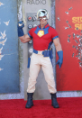 John Cena dons Peacemaker costume for The Suicide Squad premiere