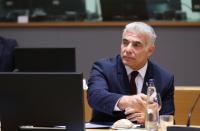 Lapid, Gantz join push for UNSC to sanction Iran