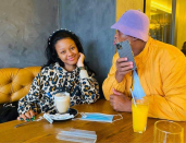 'Making an try to get sued?': SA reacts to little Sponge Wodumo's clothing line