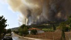 Greek fires threaten Used Olympia