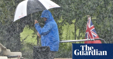 Heavy rain could cause flash flooding in parts of UK, Met Office warns