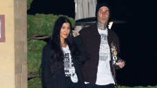 Kourtney Kardashian Covers Her Chest With Excellent Her Hair As Travis Barker Snaps A Flirty Photo