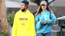Justin Bieber Wears Oversized Hoodie For Romantic Dinner Date With Hailey Baldwin — Photograph