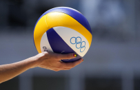 Top shots from women folk's gold medal beach volleyball match at the 2020 Tokyo Olympics