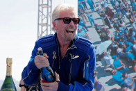 Shares making the biggest moves noon: Virgin Galactic, Robinhood, Command, Novavax & more