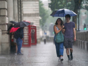 UK weather: Thunderstorm warnings for many parts as damp August continues