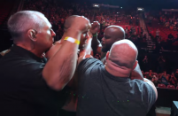 UFC 265 'Embedded,' No. 6: Up close as Derrick Lewis moves in on Ciryl Gane