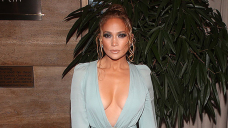 Jennifer Lopez Rocks Frilly Inexperienced Dress After Romantic Birthday Getaway With Ben Affleck — Look
