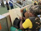 Haibo! Rasta paints Shona, leaves SA disappointed