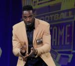 Uncover: Calvin Johnson's Professional Football Corridor of Status induction speech