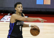 'The guy is a hooper': Jalen Suggs dazzles in debut with Magic