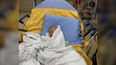 B.C. newborn hospitalized overnight with COVID-19; still sick at home