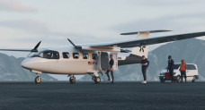 Pyka shows off its new electric passenger plane, the P3