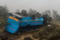 Two high school pupils killed after bus overturns in Eastern Cape