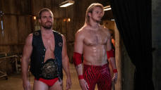 'Heels' Stars Alexander Ludwig & Stephen Amell Tease Ace & Jack's 'Severe Factors' In & Out Of The Ring
