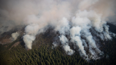 Commute warning: Tourists told not to visit parts of B.C.'s Internal as wildfires worsen