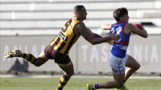 Hawthorn topple down Canines in AFL boilover