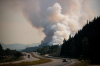 BC Wildfire Carrier prepares for increase in gusty winds and lightning