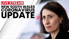 WATCH LIVE: NSW Premier Gladys Berejiklian provides COVID-19 update today after state recorded it highest number of new cases