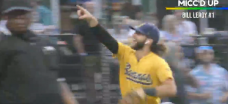 Mic'd-up baseball player astonishingly predicted his defensive play right before it happened