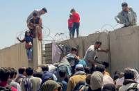Afghans climb US airplanes in desperation to flee Taliban