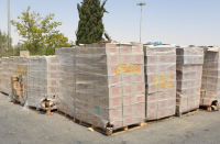 Israel seizes 23 tons of chocolate intended for Hamas funding
